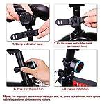 Asvert-Luce-Posteriore-Intelligente-per-Bici-Intelligente-LED-Ricaricabile-USBLuce-Bici-Anteriore-e-Posteriore-Super-LuminosoAccensioneSpegnimento-Automatico-Sicurezza-per-Notte
