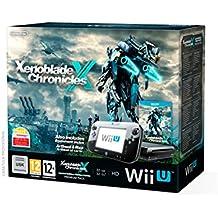 Nintendo Wii U - Consola Premium HW + Xenoblade Chronicles X + Libro Ilustraciones + Mapa