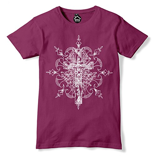FunkyShirt  T-Shirt Kastanienbraun