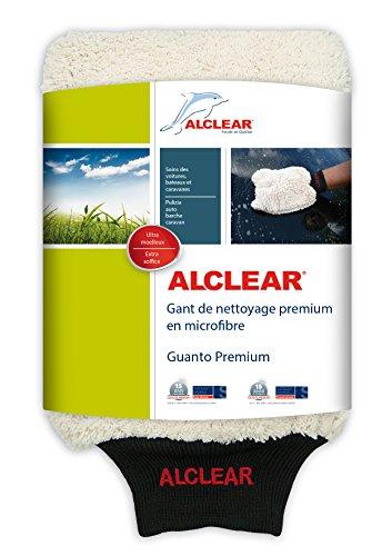 Alclear guanto di microfibra per lavare l'auto con shampoo: migliore di una spugna per il lavaggio auto, panno lucidante o panno in micro fibra; per veicoli e moto
