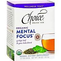 Choice Organic Teas - Tea,Og2,Mental Focus, 6 x 16 BAG