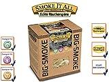 SMOKE IT ALL BBQ Räucherspäne Räuchermischung mit Gewürzen 800 gr. - WATTENMEER -