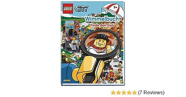 LEGO City Wimmelbildbuch Finde den Dieb NEU! Mit zwei original Minifiguren
