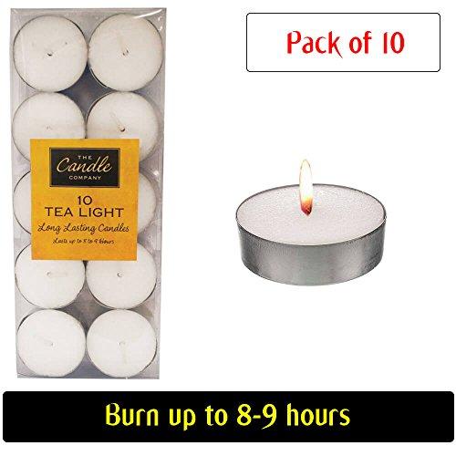 Velas Velas de cera Handy ideal para usar-para ocasiones festivas como decorativa luces o para crear un ambiente romántico, 1 Pack of 10 Candles