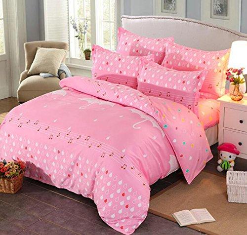 Bettwäsche Schleifen vier Sätze von Bettwäsche, Baumwolle europäischen und amerikanischen Stil Bett-Sets (Ninjago Twin-betten)