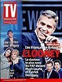 TV MAGAZINE LE FIGARO [No 20675] du 22/01/2011 - LES FRANCAISES VOTENT CLOONEY - LE DR LE PLUS SEXY DU PAF DEVANT HUGH LAURIE ET PATRICK DEMPSEY - LEUR COMBAT POUR GREGORY / KARINE FERRI ET LAURENCE LEMARCHAL