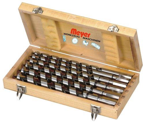 Schlangenbohrer-Set 6-tlg. 320mm - Holzbohrer Bohrer