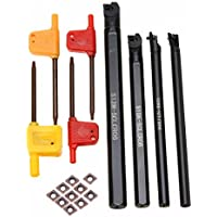 4 soportes para barra de aburrimiento de 7/8/10/12 mm SCLCR06