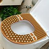 Wmshpeds Paste Toilette Pad Winter verdickte warme Klobrille gepolsterter gepolsterter allgemeiner Typ 2 installiert