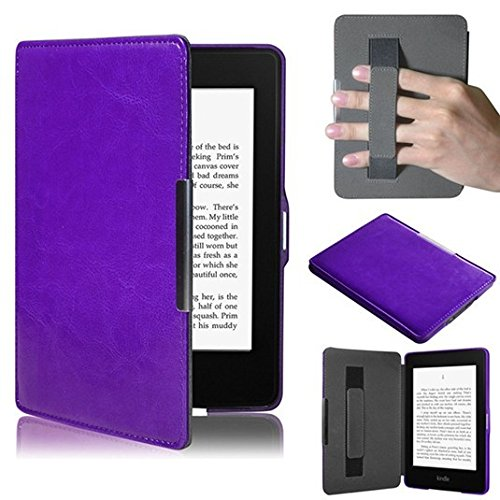 voguecase-for-amazon-kindle-paperwhitehand-holder-purpleslim-fit-hand-strap-holder-pu-leather-case-c