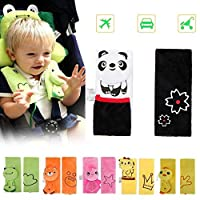 DQTYE Soft Cartoon Baby Child Animal Harness Car Seat Belt Strap Covers Safety Shoulder Pad Protection Cushion for Infant Stroller Pushchair Seatbelt
