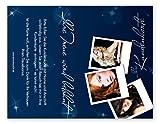 Kundenkarten (50 Stück) für Friseur, Hairstyling, Kosmetik - Bonuskarten'Stars'