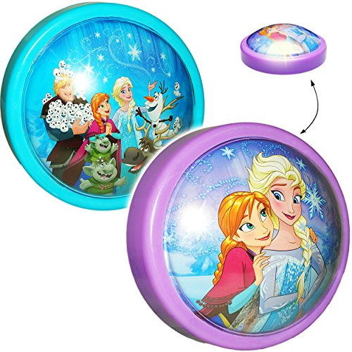 LED Nachtlicht -  Disney die Eiskönigin - Frozen - rot  - Batterie betrieben - Schlummerlicht / magisches Licht - zum Drücken - Touch - Baby / Wand - Schnur.. ()