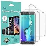 Pellicola Protettiva Galaxy S6 Edge Plus, [Copertura Copertura], JETech SOFTOUGH 2-Pack TPE Screen Protector Film per Samsung Galaxy S6 Edge Plus