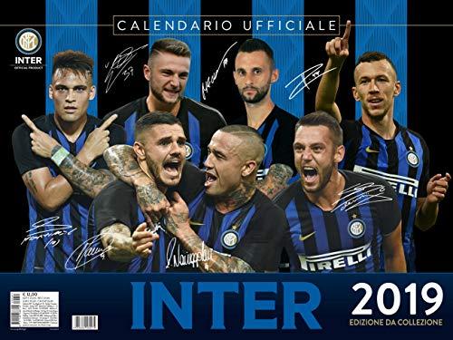 calendario INTER 2019 UFFICIALE da collezione - (44x33)