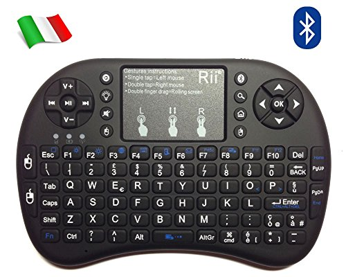 Rii Mini i8+ Bluetooth (layout ITALIANO) - Mini...