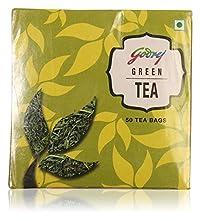 Godrej Green Tea, 100 Grams (50 Tea Bags)