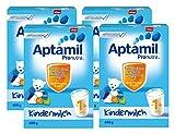 Aptamil Kinder-Milch 1+ ab dem 12. Monat, 4er Pack (4 x 600g)