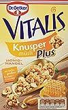 Dr. Oetker Vitalis KnusperPlus Honig-Mandel: Knuspermüsli mit Honig und Mandelstückchen, 7er Packung (7 x 450g)