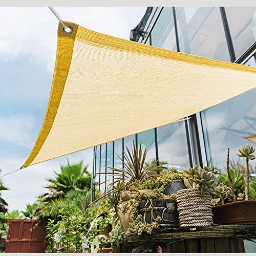 E.enjoy Sichtschutznetz Beige 90{f35425c38405a9ca07fb06ddddc5b0ea94077572fce094b88aed7f23749b0c2a} Sunblock Shade Tuch for Gewächshaus Pflanze Auto Dach Scheune Zwinger Abdeckung, Anti-UV-Garten Pergola Belüftung durchlässig (Size : 400cmX500cm)