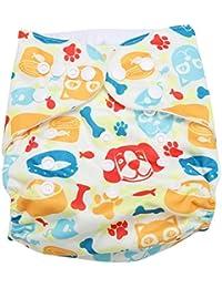 Swim Diaper Baby Infant Snap Absorbente Lavable Swimsuit Pañal Reutilizable Swim Pañal Para Niñas, Niños Clases De Natación, Talla Única Todos