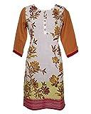 Pankhuri Women's Cotton Regular Fit Kurt...