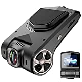 funbot Full HD 1080p Dash Cam 6,2cm LCD 170Grad Weitwinkel Auto Armaturenbrett Kamera Recorder mit hinten Kamera, 16GB MicroSD Karte, Sony Video Sensor, G-Sensor, Nachtsicht, WDR, Loop Aufnahme