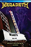 : Megadeth - Rust In Peace Live (DVD)