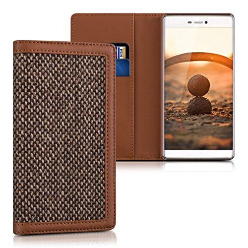 kalibri-wallet-case-cover-donna-for-huawei-p8-cover-flip-tweed-artificial-leather-bag-with-card-slot