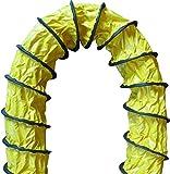 Luftverteilungsschlauch, Abluftschlauch, flexible Rohrleitung, Belüftung (Ø 30 cm / 20 Meter)