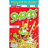 Kellogg's Céréales Smacks 600 g - Lot de 3