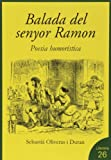 La balada del senyor Ramon: Poesia humorística (Literaria)
