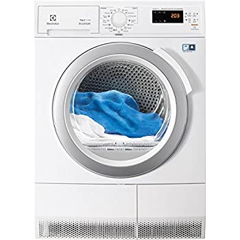 Electrolux RDH3874GDE Freestanding Front-load 7kg A++ White tumble dryer - tumble dryers (Freestanding, Front-load, Condensation, White, Left, Buttons, Touch)