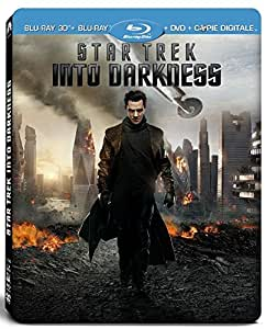 "Star Trek Into Darkness [Édition limitée ""Phaser"" + Coffret SteelBook Blu-ray 3D + Blu-ray + DVD + Copie digitale]"
