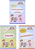 #7: UKG Kids ACE All-in-One Worksheets 260 pages (KG 2) and Montessori (4-6 yrs) (English, Mathematics, General Knowledge / EVS & Fun Colouring Combo) loose leaf workbook from 3H Learning