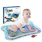 Decdeal Tapis d'eau Gonflable de bébé, Centre de Jeu d'activité d'amusement d'activité d'enfant en Bas âge de Tapis...