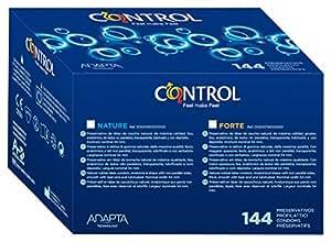 Control Nature - Preservativi, scatola professionale da 144 pezzi