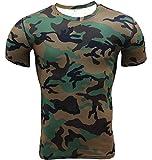 T-Shirt De Compression Manches Courtes Vêtements Fitness Running Homme L
