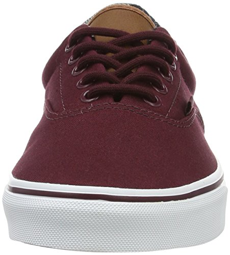 Vans Ua Era 59, Sneakers Basses Homme Rouge (C And L Port Royale/material Mix)