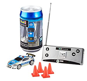 Revell- Mini RC Car Police Juguetes a Control Remoto, (23559)