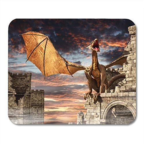 XIUZHIZH Gaming Mouse Pad Western Retro Alphabet Stencil Serif Dirty Letters Numbers Decor Office Nonslip Rubber Backing Mousepad Mouse Mat Western Non-slip
