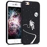 kwmobile Funda para Apple iPhone 6 / 6S - Carcasa [Trasera] Protectora para móvil - Cover Duro con diseño Lunar