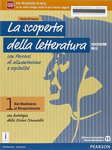 Letteratura professionali. Con Divina commedia. Per le Scuole superiori. Con e-book. Con espansione online: 1