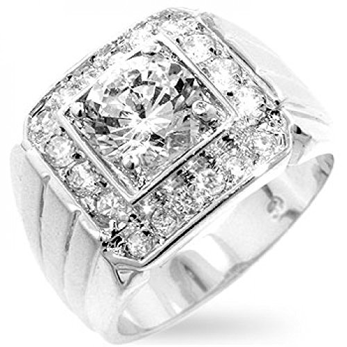 mens-two-tone-finish-cubic-zirconia-ring