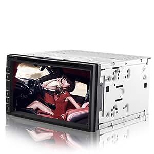 High-Tech Place Road Cougar - Autoradio 6.95 HD tactile, lecteur DVD, GPS, TNT