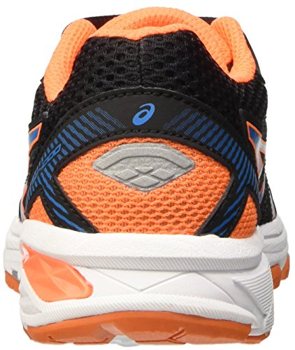 Asics Gt-1000 5 GS, Scarpe da Ginnastica Unisex-Bambini Nero (Black/Blue Jewel/Hot Orange)