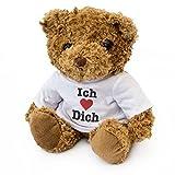 London Teddy Bears NEU - ICH LIEBE DICH – Braun Teddybär – Niedlich Weich Kuschelig – Geschenk
