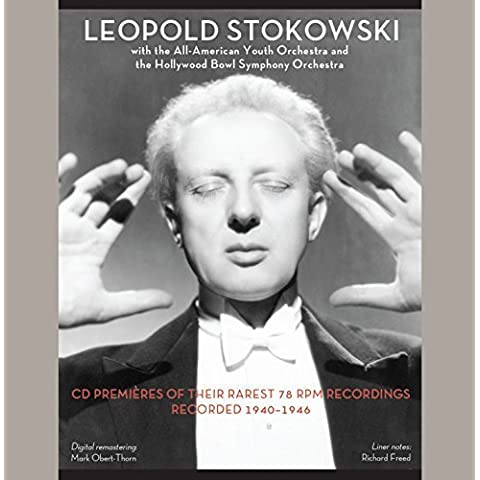 Leopold Stokowski - with the All-American Youth Orchestra & the Hollywood Bowl Symphony Orchestra by Henry Cowell, Goddard Lieberson (2015-04-14)