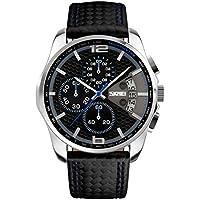 NICERIO Reloj electrónico Multifuncional Impermeable Relojes de Pulsera Digitales Relojes Deportivos al Aire Libre (Azul)