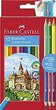 Faber-Castell 110312 Matita Colorata, 15 Pezzi